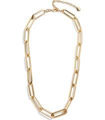 women's baublebar hera chain link choker