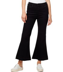 sanctuary high waist kick-flare jeans