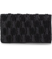giani bernini beaded flap clutch, created for macy's