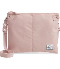herschel supply co. alder pouch crossbody - pink