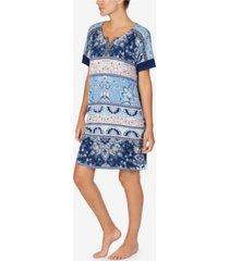 ellen tracy women's short sleeve tunic