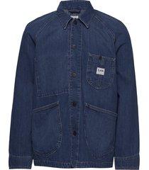loco rework jeansjack denimjack blauw lee jeans