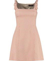alexachung eliza mini sheath dress