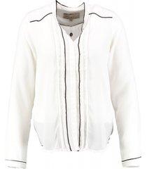 garcia polyester blouse spring white