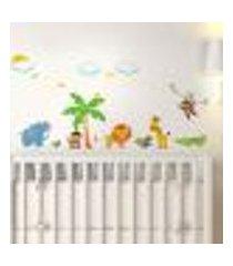 adesivo de parede infantil safári mod. 2 - médio