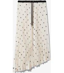 proenza schouler white label grateful dead bear pleated skirt white/black bear l