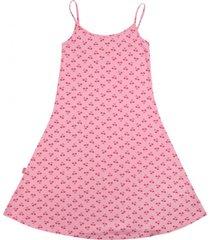 vestido day to day rosado ficcus