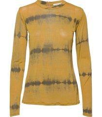 agnia t-shirts & tops long-sleeved geel rabens sal r