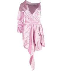 alexander wang asymmetric mini dress