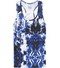 camiseta atletica difuminada azul color azul, talla s