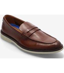 malwood step loafers låga skor brun clarks