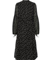 dotta avery dress knälång klänning svart bruuns bazaar