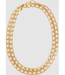 reiss lexi - gold plated triple-wrap bracelet in gold, womens