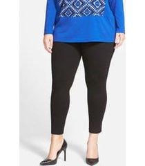 plus size women's vince camuto high rise leggings, size 2x - black
