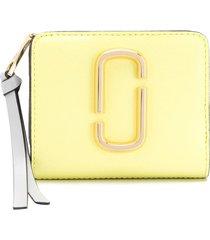 marc jacobs snapshot mini wallet - yellow