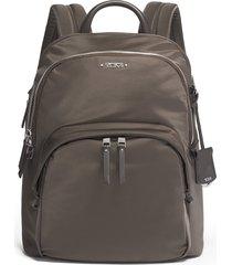 tumi voyageur - dori nylon backpack - brown