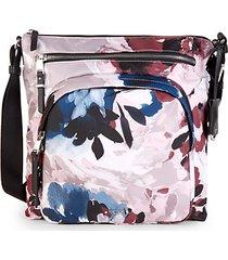 carmel floral crossbody bag