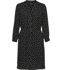 jurk damina 7/8 zwart