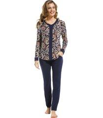 dames pyjama pastunette de luxe 25212318-6-50