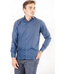 camisa azul pato pampa gaviotas