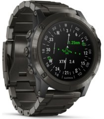 garmin d2 delta premium gps aviator watch in titanium