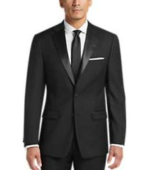 calvin klein black extreme slim fit tuxedo separates jacket