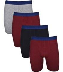 isotoner signature men's 4 pack cotton stretch boxer brief