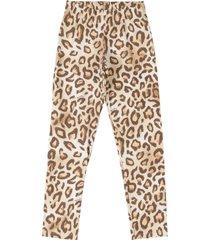 calça legging em cotton quimby marrom