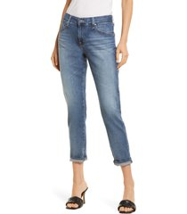 women's ag the ex-boyfriend slim jeans, size 31 - blue