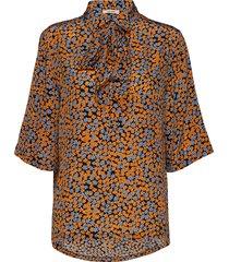 sophia shirt blouses short-sleeved multi/patroon nué notes