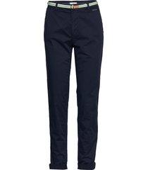 pants woven chinos byxor blå esprit casual