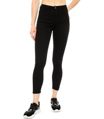jeans jacqueline de yong negro - calce ajustado