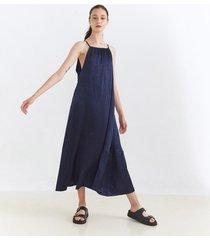 vestido azul desiderata lulum