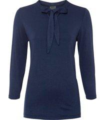 maglia con fiocco (blu) - bodyflirt