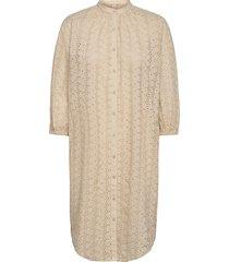 anglaise kaylin tunic dresses lace dresses beige becksöndergaard