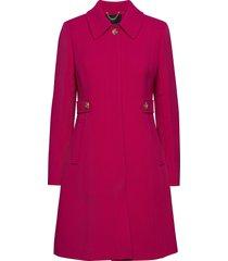 new lady day topcoat dunne lange jas roze j.crew