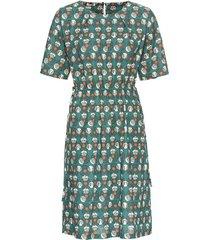 bedrukte jurk, zeegras-motief 34