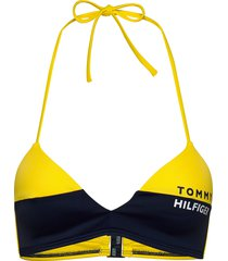 fixed triangle rp bikinitop gul tommy hilfiger