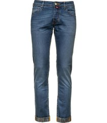jacob cohen jacob choen bule denim trousers