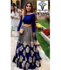 indian festival bollywood lehenga dress women party wear designer vt - 1054