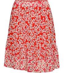 slaldora skirt kort kjol röd soaked in luxury