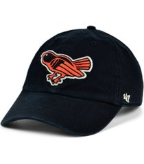 '47 brand baltimore orioles mclean coop clean up cap