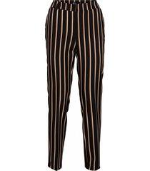&co woman pantalon stockholm stripe zwart