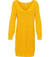 abito in maglia (giallo) - rainbow