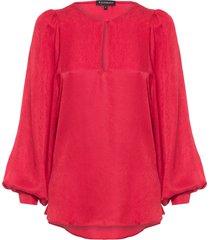 blusa feminina daria - vermelho