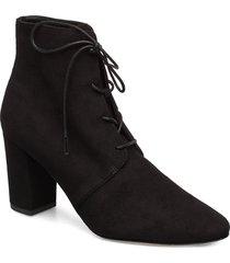 lira shoes boots ankle boots ankle boot - heel svart l.k.bennett