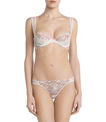 la perla women's alida brazilian briefs - natural - size s