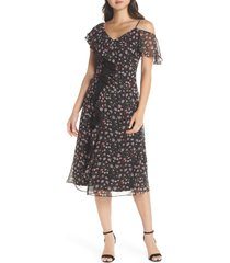 women's sam edelman ruffle front midi dress