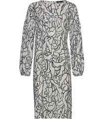 ladies dress, pikku iiris knälång klänning multi/mönstrad nanso