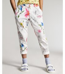 inc international concepts men's slim-fit floral tapered pants, created for macy's